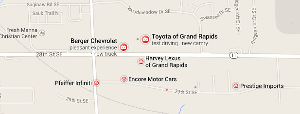 Google Maps Brand Recognition