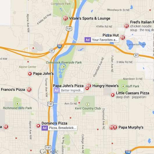 New Google Maps Ads
