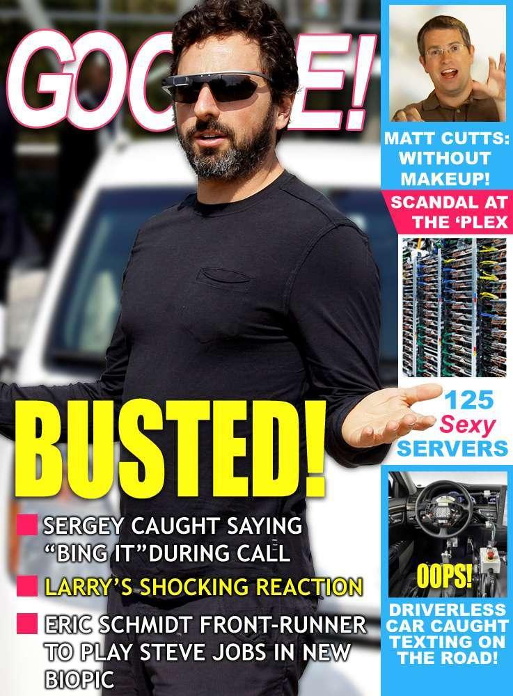 Google! Gossip Magazine